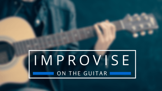 Improvise on guitar