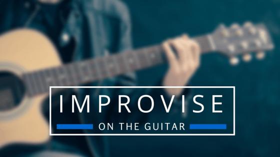 Improvise on guitar