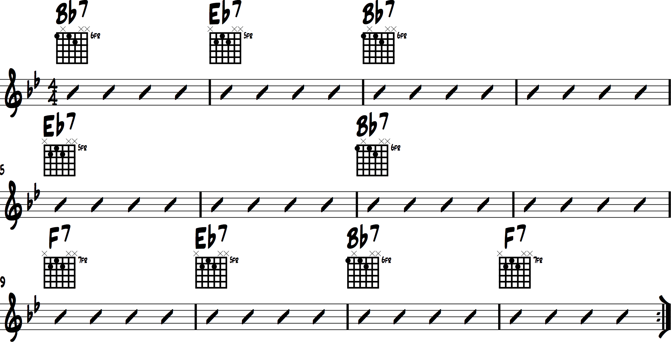 Jazz Chord Progressions 1