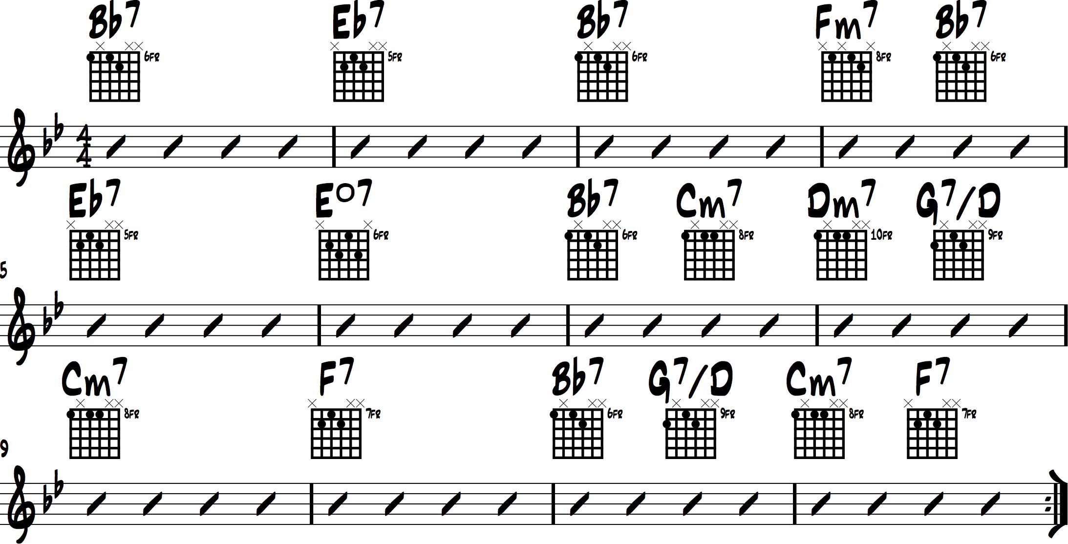 Jazz Chord Progressions  2