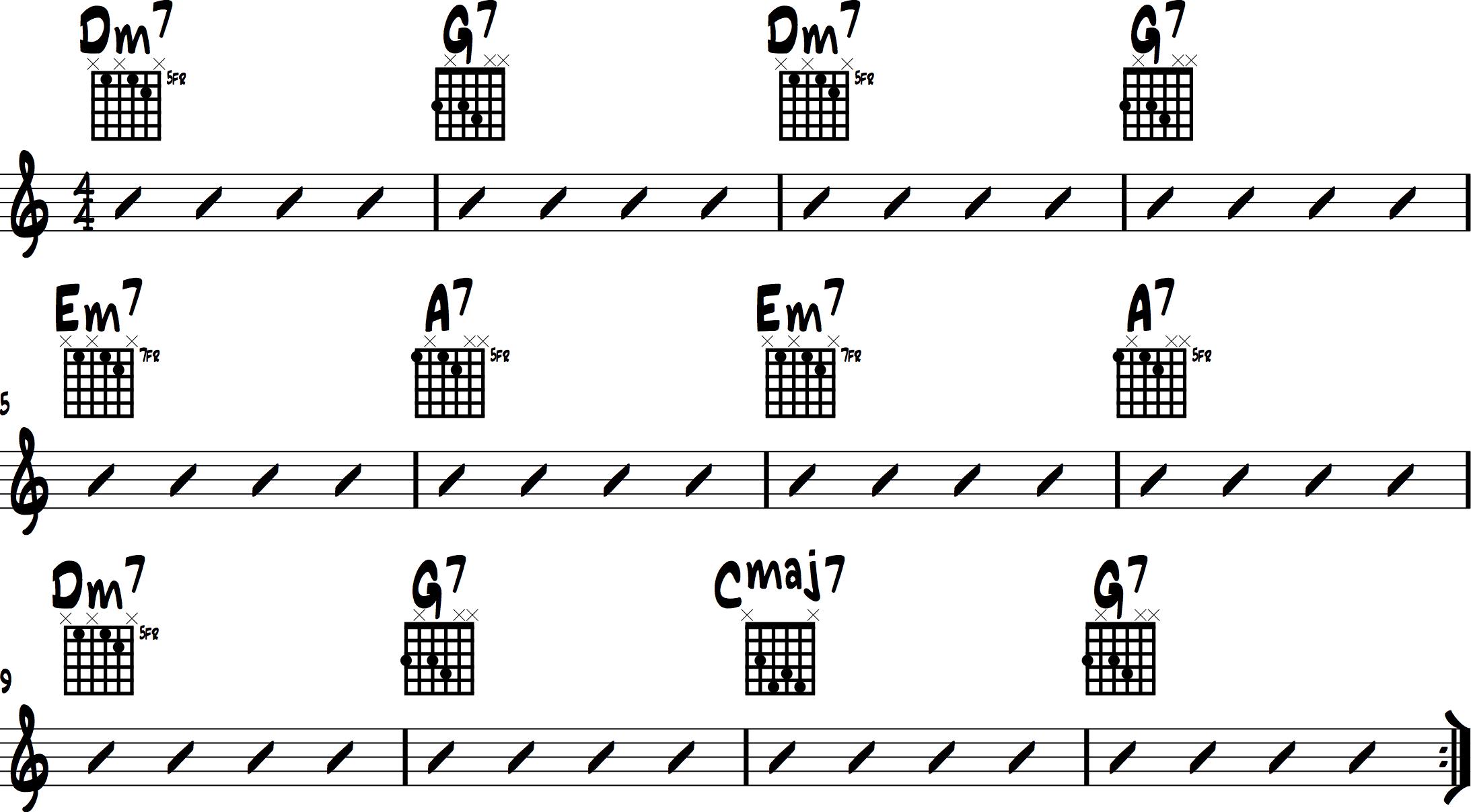 Jazz Chord Progressions 4