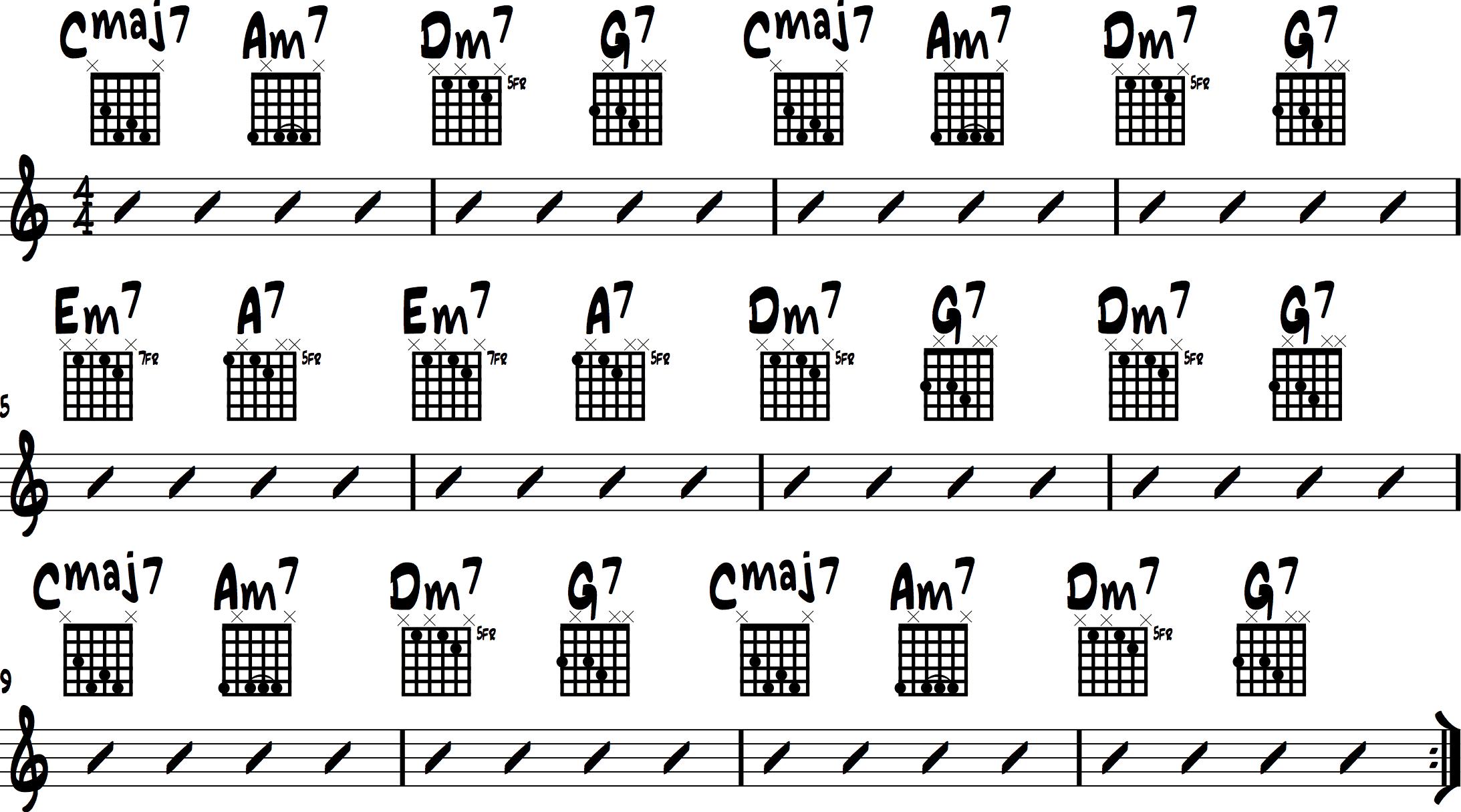 Jazz Chord Progressions 5
